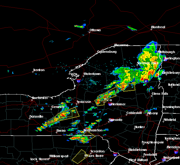 Radar Image for Severe Thunderstorms near Cold Brook, NY at 7/17/2017 1:18 PM EDT