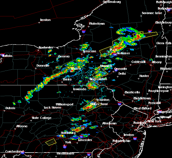 Radar Image for Severe Thunderstorms near Oakland, PA at 7/17/2017 1:42 PM EDT