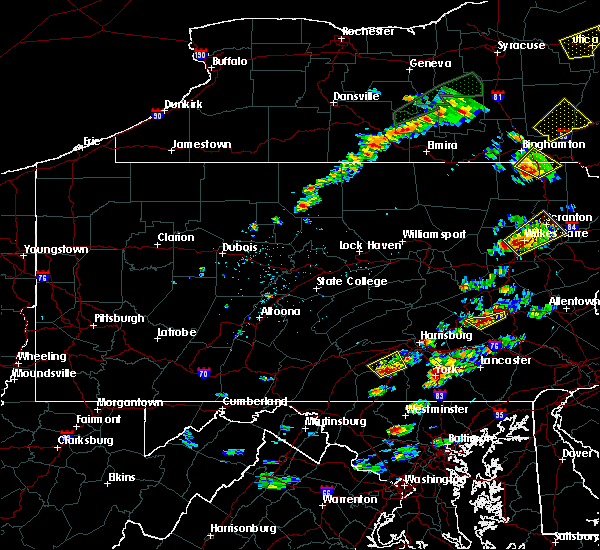 Radar Image for Severe Thunderstorms near Bethel, PA at 7/17/2017 1:42 PM EDT