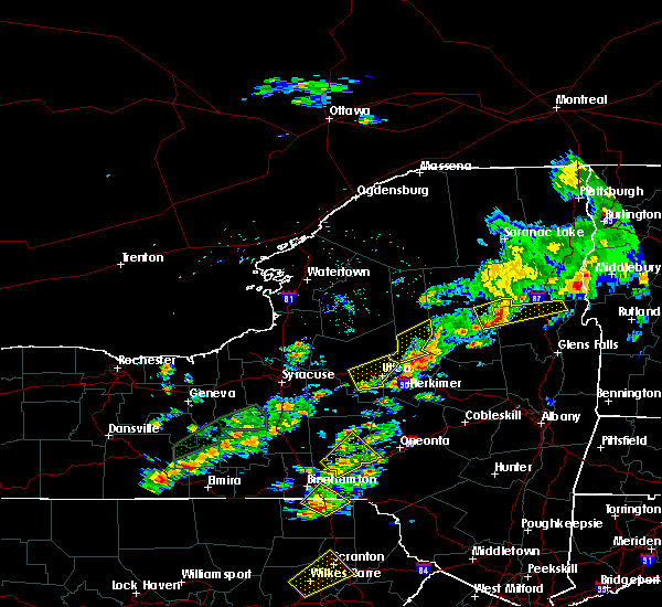Radar Image for Severe Thunderstorms near Cold Brook, NY at 7/17/2017 1:45 PM EDT