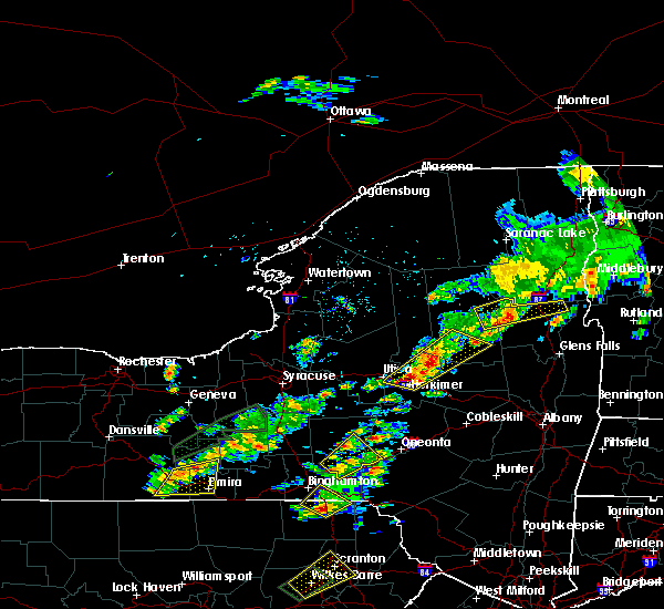 Radar Image for Severe Thunderstorms near Frankfort, NY at 7/17/2017 1:57 PM EDT