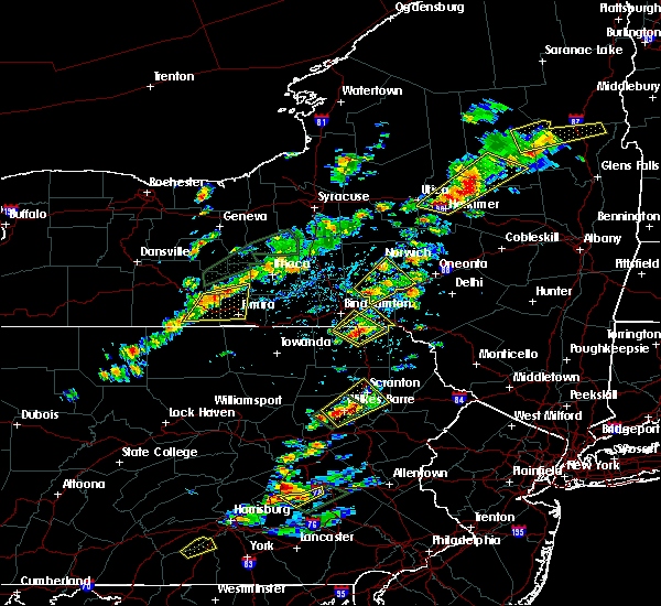 Radar Image for Severe Thunderstorms near Oakland, PA at 7/17/2017 2:00 PM EDT