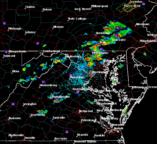 Radar Image for Severe Thunderstorms near Union Bridge, MD at 7/17/2017 3:04 PM EDT