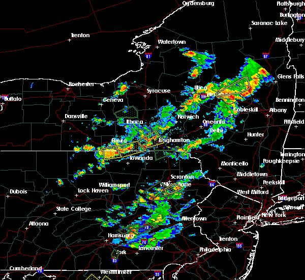 Radar Image for Severe Thunderstorms near Wellsburg, NY at 7/17/2017 3:29 PM EDT