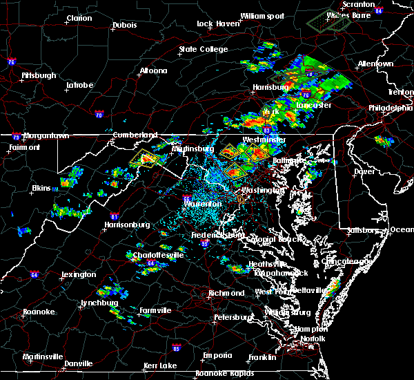 Radar Image for Severe Thunderstorms near Union Bridge, MD at 7/17/2017 3:35 PM EDT
