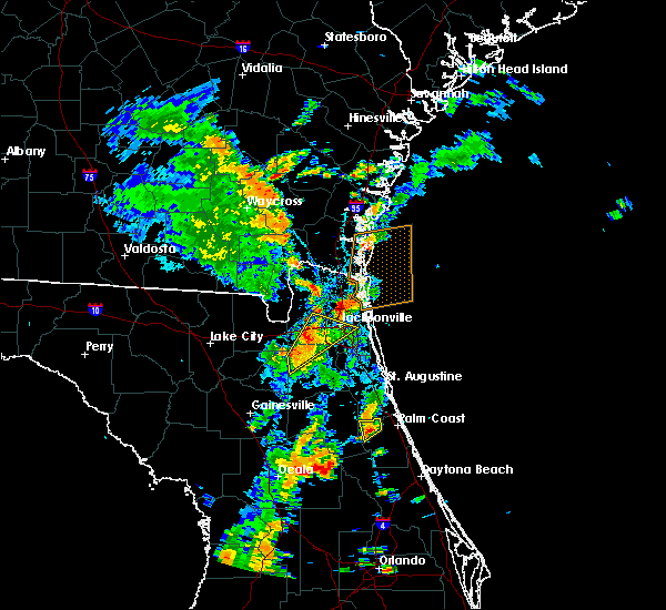 Radar Image for Severe Thunderstorms near Bunnell, FL at 7/17/2017 3:38 PM EDT
