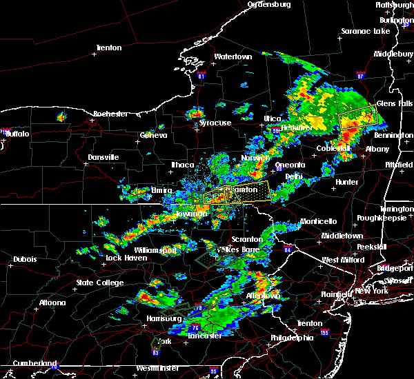 Radar Image for Severe Thunderstorms near Deposit, NY at 7/17/2017 4:29 PM EDT