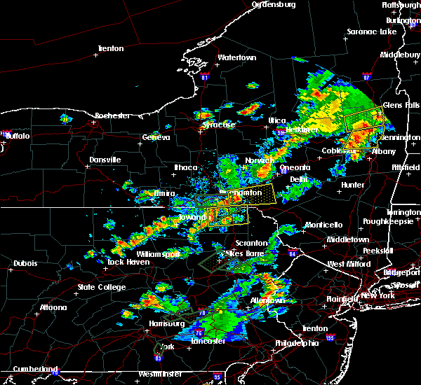 Radar Image for Severe Thunderstorms near Oakland, PA at 7/17/2017 4:41 PM EDT
