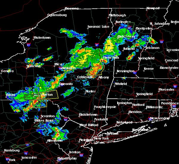 Radar Image for Severe Thunderstorms near Salem, NY at 7/17/2017 4:50 PM EDT