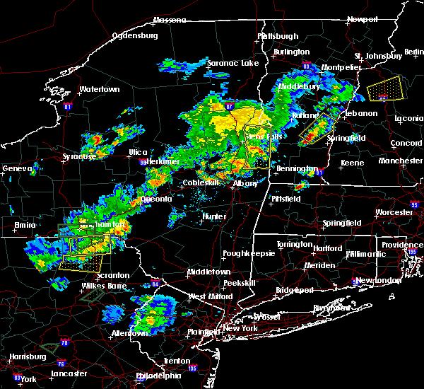 Radar Image for Severe Thunderstorms near Salem, NY at 7/17/2017 5:24 PM EDT