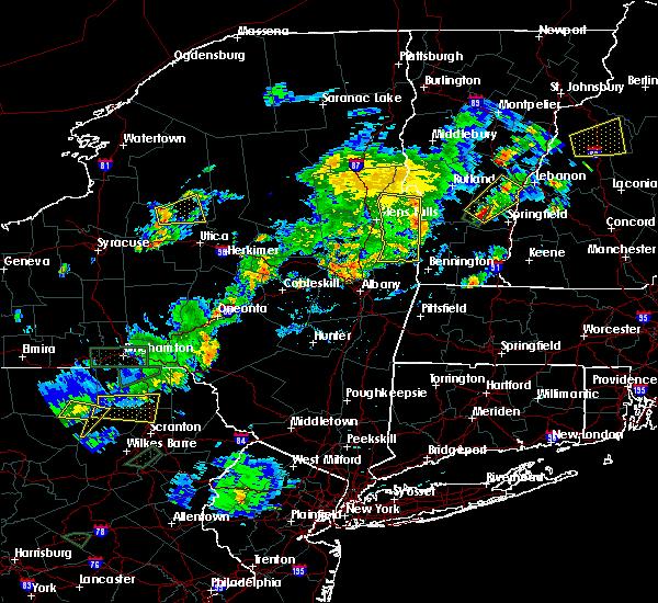 Radar Image for Severe Thunderstorms near Salem, NY at 7/17/2017 5:43 PM EDT