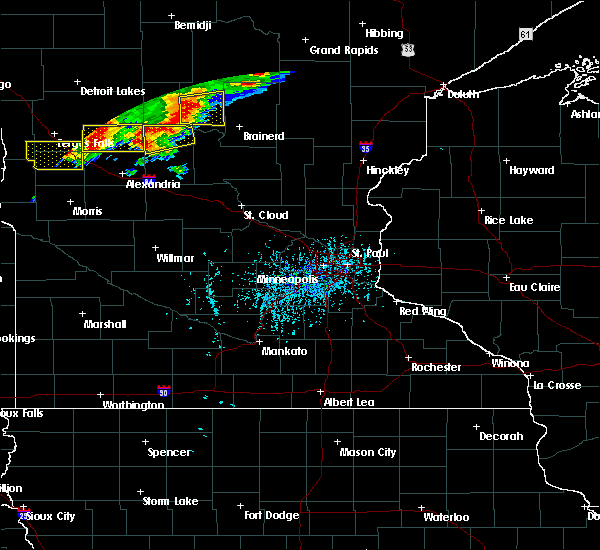 Radar Image for Severe Thunderstorms near Bertha, MN at 7/17/2017 4:55 PM CDT