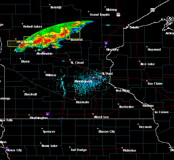 Radar Image for Severe Thunderstorms near Bertha, MN at 7/17/2017 5:21 PM CDT