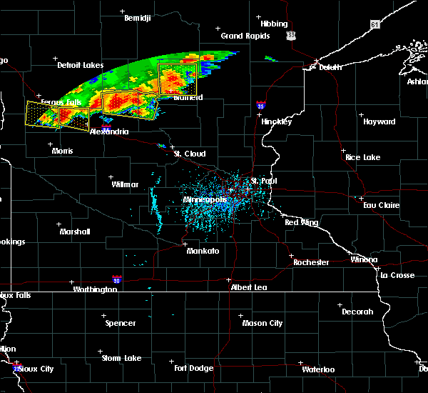 Radar Image for Severe Thunderstorms near Bertha, MN at 7/17/2017 5:34 PM CDT