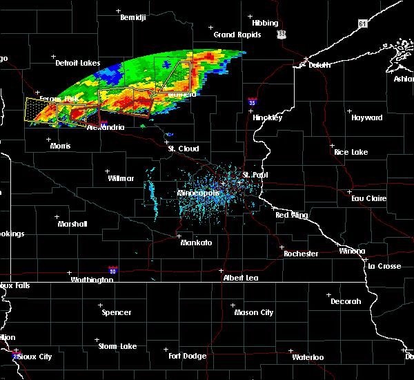 Radar Image for Severe Thunderstorms near Long Prairie, MN at 7/17/2017 5:56 PM CDT