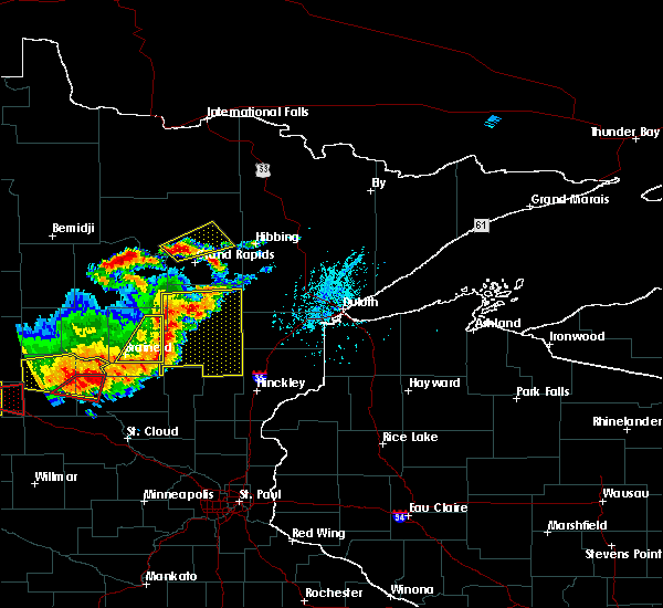 Radar Image for Severe Thunderstorms near Palisade, MN at 7/17/2017 6:02 PM CDT