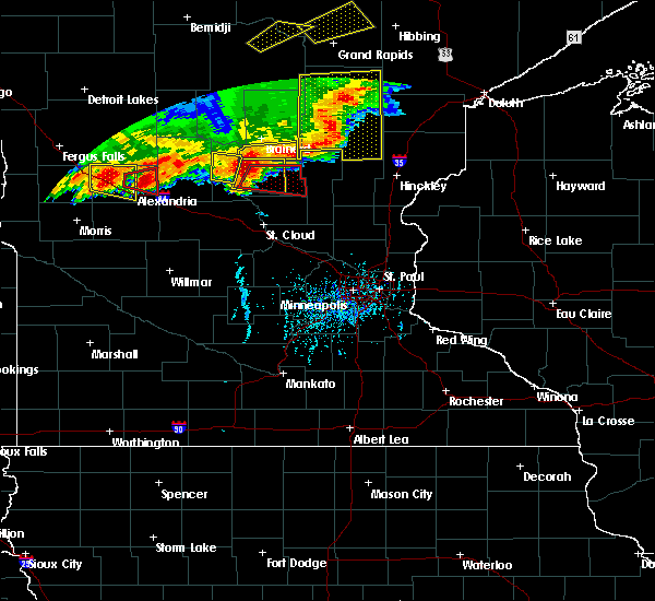 Radar Image for Severe Thunderstorms near Lastrup, MN at 7/17/2017 6:22 PM CDT