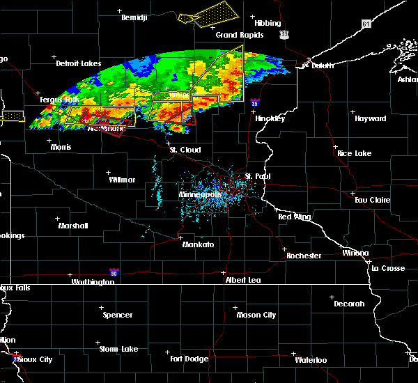 Radar Image for Severe Thunderstorms near West Union, MN at 7/17/2017 6:44 PM CDT