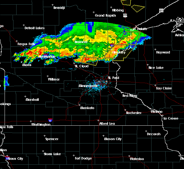 Radar Image for Severe Thunderstorms near Princeton, MN at 7/17/2017 7:54 PM CDT