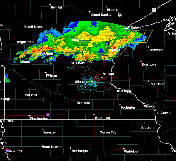 Radar Image for Severe Thunderstorms near Princeton, MN at 7/17/2017 8:06 PM CDT
