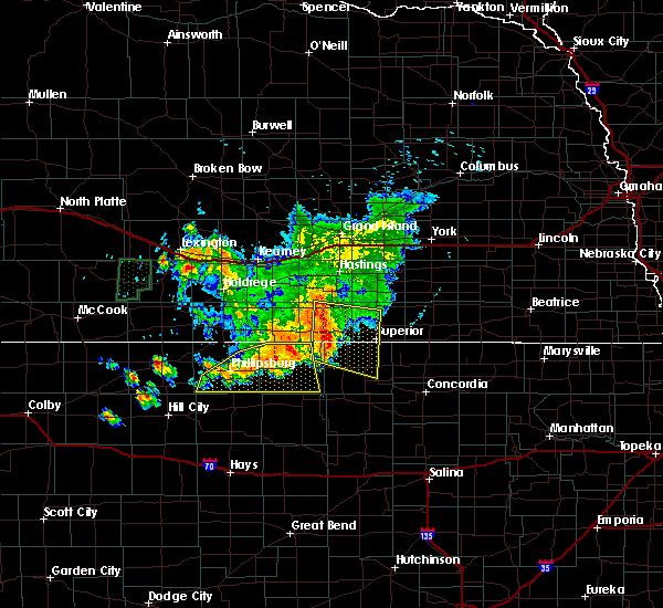 Radar Image for Severe Thunderstorms near Mankato, KS at 7/17/2017 8:42 PM CDT