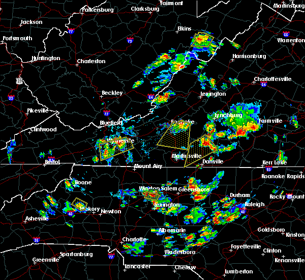 Radar Image for Severe Thunderstorms near Hiwassee, VA at 7/18/2017 4:58 PM EDT