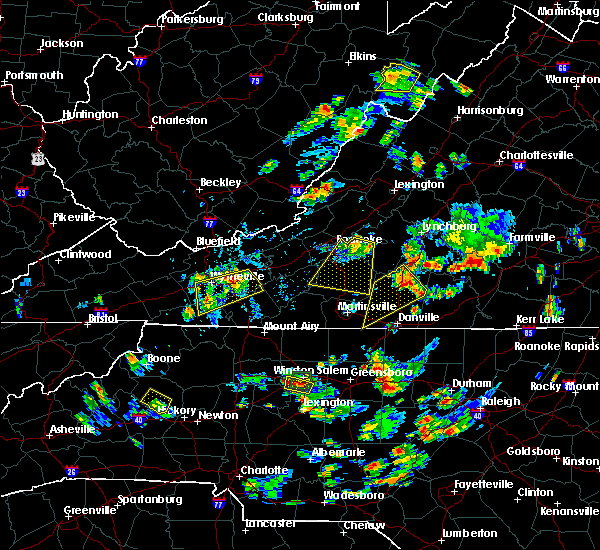 Radar Image for Severe Thunderstorms near Blairs, VA at 7/18/2017 5:04 PM EDT
