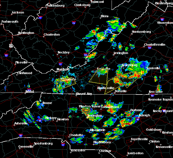 Radar Image for Severe Thunderstorms near Mountain Road, VA at 7/18/2017 5:07 PM EDT