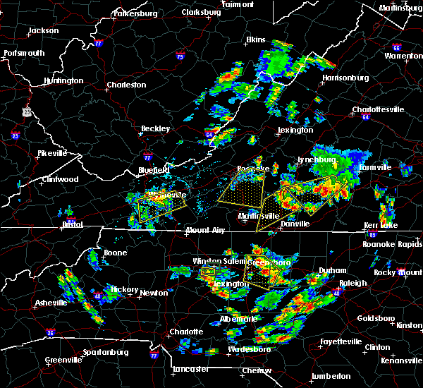 Radar Image for Severe Thunderstorms near Hiwassee, VA at 7/18/2017 5:26 PM EDT