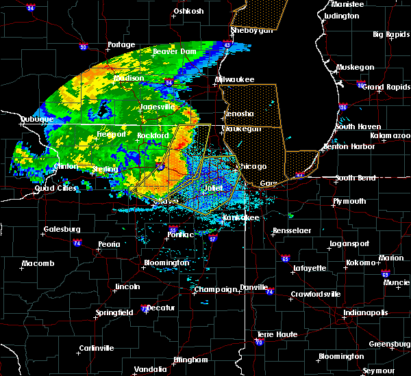 Radar Image for Severe Thunderstorms near South Elgin, IL at 7/19/2017 9:14 PM CDT