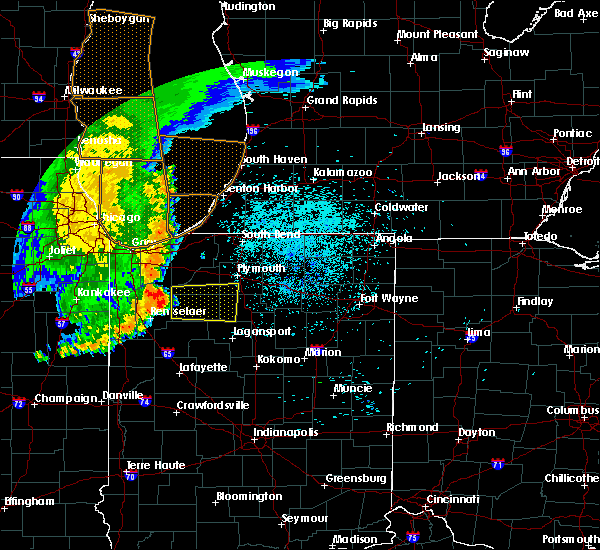 Radar Image for Severe Thunderstorms near Kewanna, IN at 7/20/2017 12:06 AM EDT