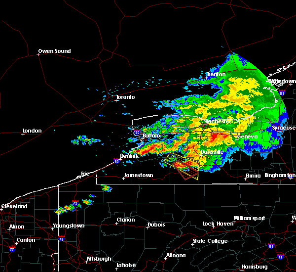 Radar Image for Severe Thunderstorms near Angelica, NY at 7/20/2017 1:52 PM EDT