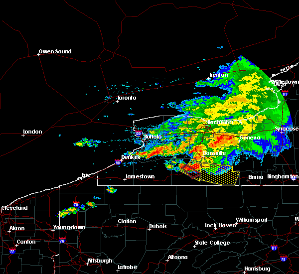 Radar Image for Severe Thunderstorms near Angelica, NY at 7/20/2017 2:00 PM EDT