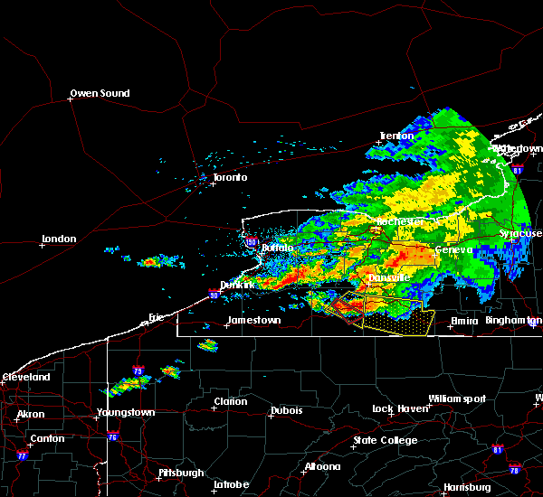 Radar Image for Severe Thunderstorms near Alfred, NY at 7/20/2017 2:04 PM EDT