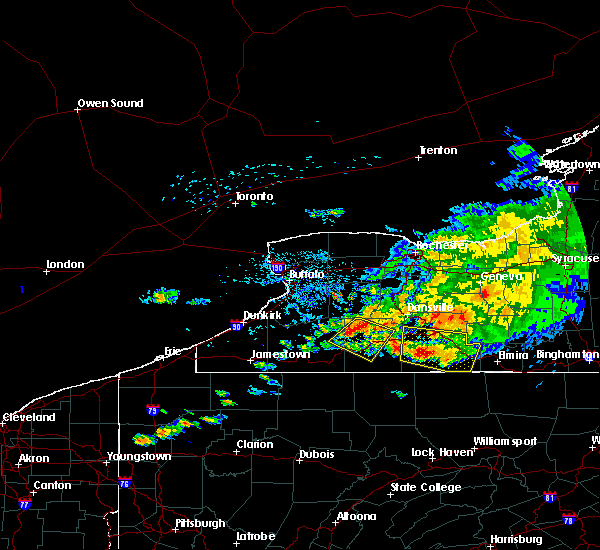 Radar Image for Severe Thunderstorms near Belfast, NY at 7/20/2017 2:37 PM EDT