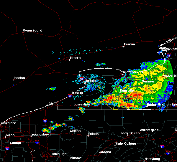 Radar Image for Severe Thunderstorms near Belfast, NY at 7/20/2017 2:49 PM EDT