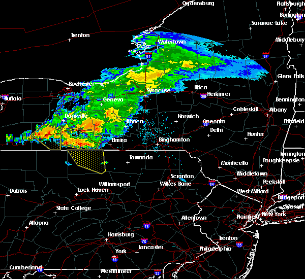 Radar Image for Severe Thunderstorms near Roseville, PA at 7/20/2017 2:52 PM EDT
