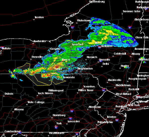 Radar Image for Severe Thunderstorms near Alba, PA at 7/20/2017 3:34 PM EDT