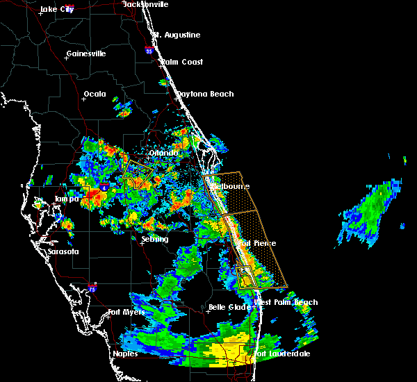 Radar Image for Severe Thunderstorms near Bay Hill, FL at 7/21/2017 2:29 PM EDT