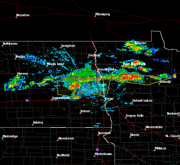 Radar Image for Severe Thunderstorms near Solway, MN at 7/21/2017 4:20 PM CDT