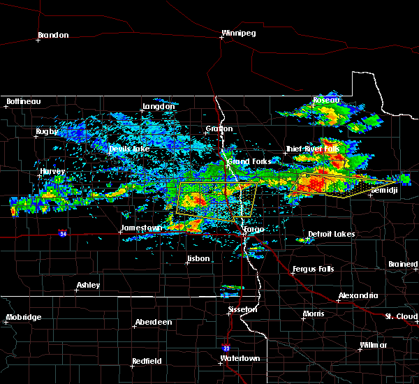 Radar Image for Severe Thunderstorms near Solway, MN at 7/21/2017 4:41 PM CDT