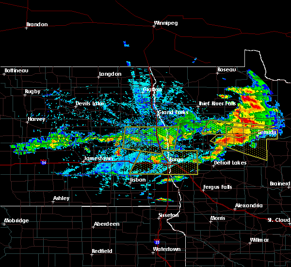 Radar Image for Severe Thunderstorms near Bemidji, MN at 7/21/2017 5:16 PM CDT