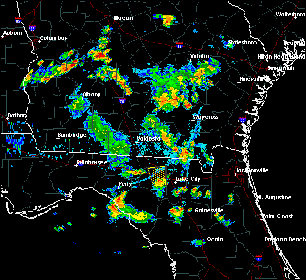 Radar Image for Severe Thunderstorms near Live Oak, FL at 7/21/2017 6:59 PM EDT