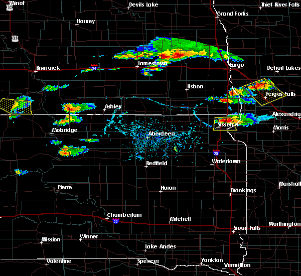 Radar Image for Severe Thunderstorms near Long Hollow, SD at 7/21/2017 7:02 PM CDT