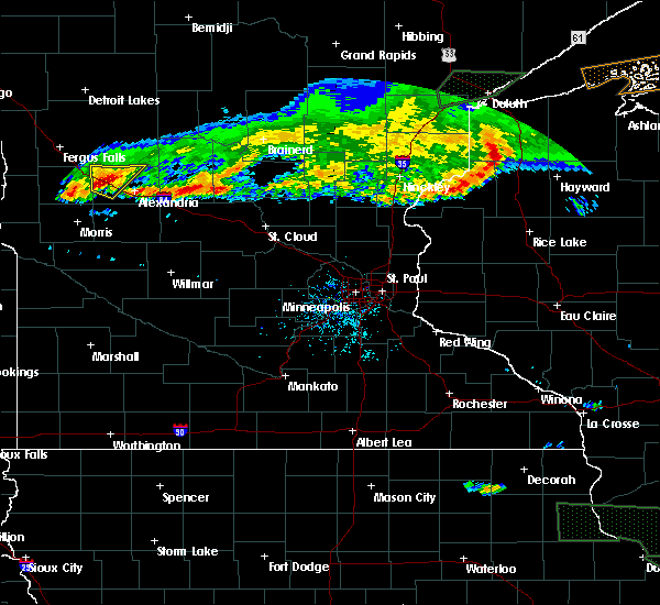 Radar Image for Severe Thunderstorms near Garfield, MN at 7/21/2017 9:07 PM CDT