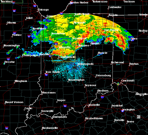 Radar Image for Severe Thunderstorms near Whitestown, IN at 7/22/2017 3:17 AM EDT