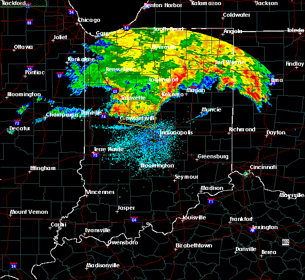 Radar Image for Severe Thunderstorms near Whitestown, IN at 7/22/2017 3:30 AM EDT