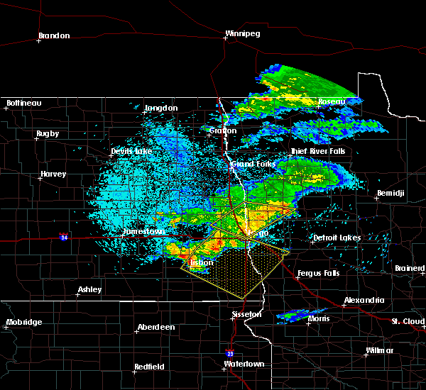 Radar Image for Severe Thunderstorms near Baker, MN at 7/22/2017 3:10 AM CDT