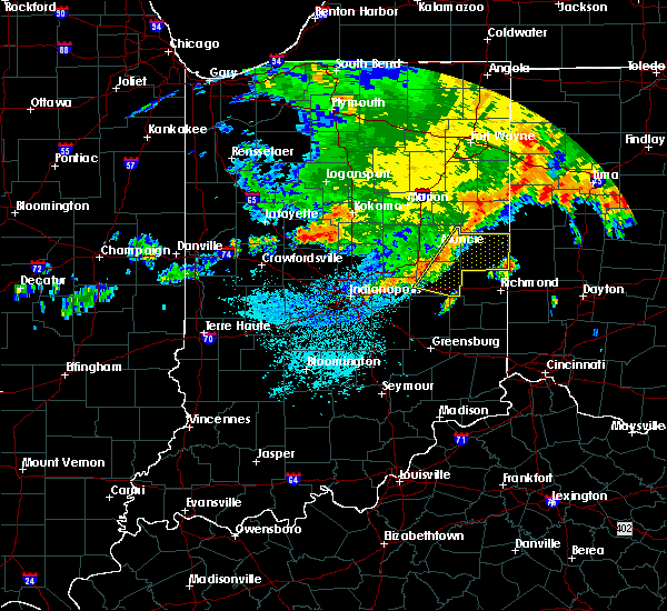 Radar Image for Severe Thunderstorms near New Castle, IN at 7/22/2017 4:34 AM EDT