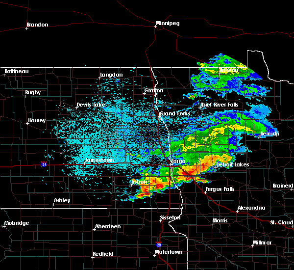 Radar Image for Severe Thunderstorms near Fergus Falls, MN at 7/22/2017 4:03 AM CDT